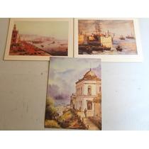 Pinturas Valparaíso. Correa , Moñoz Y Chassin Reproducciones