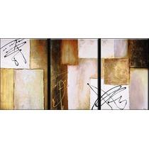 Cuadros Abstractos Modernos,tripticos Decorativos
