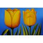 Cuadros Modernos Pintura Flores Tulipanes