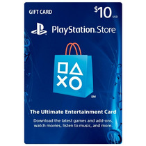 Psn Card 10 Usd - Playstation Network Card