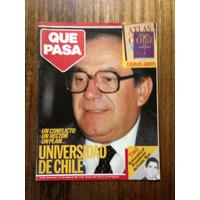 Revista Que Pasa- Universidad De Chile