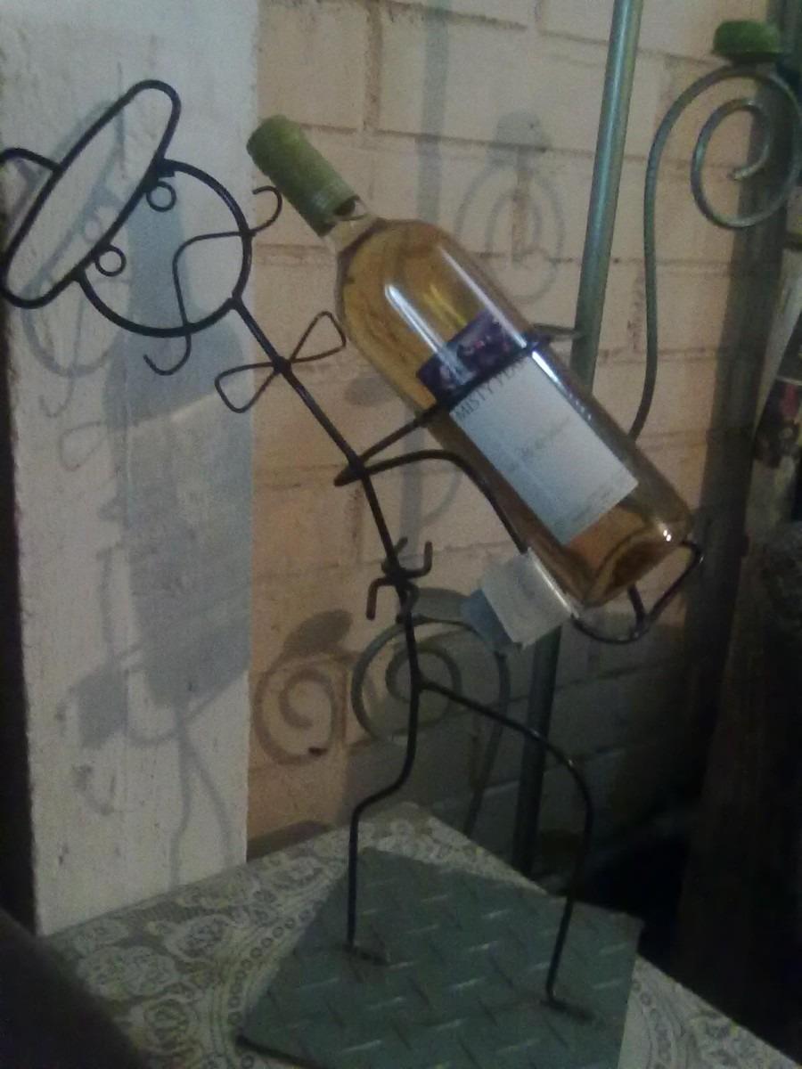 Porta Botella De Vino  $ 12000 en MercadoLibre