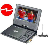 Dvd Portátil 9 + Television Digital, Usb, Sd, Bater. 220/12v