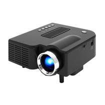 Mini Proyector Led 40 Lumenes Hdmi / Av In / Usb / Sd / Vga