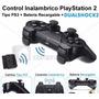 Control Inalambrico Ps2 + Bateria Recargable Fenix Games Dx