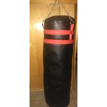 Saco De Box-puching Bag-saco Boxeo Cuero Oferta Cybermonday