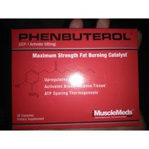 Musclemeds Phenbuterol 30 Cáps Quemador De Grasas