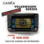 Radio Caska Full Tech Volkswagen Gps Tv Digital Original