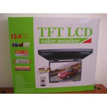 Monitor De Techo 15,4 Tft Lcd 12 O 24 Volts