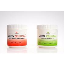 Kit Criogel + Termogel 500 Grs Reductor Anticelulitis Murta