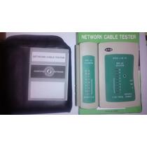 Tester Para Cable De Red Utp Rj45+rj11