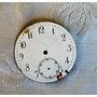 Esfera Esmaltada Para Reloj De Bolsillo Repuesto Relojeros