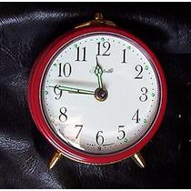 Reloj Despertador Vintaje Miniatura West Germany Forestville