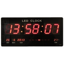 Reloj De Pared Digital Led , Grenelectronic Chile