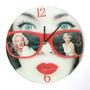 Reloj Mural Pared Morph Diseño Marilyn