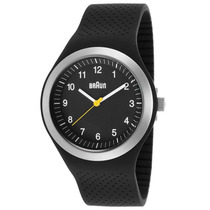 Reloj Braun Sports Black Silicone Black Dial - Hombre