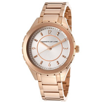 Reloj Kenneth Jay Lane Es 2200 Series Rose-tone Stainless