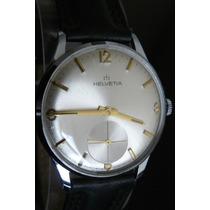 Reloj Cuerda Suizo Helvetia De Omega Año 50 Vintage 17 Rubis
