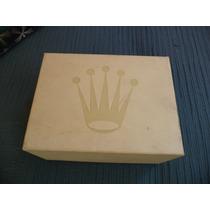 Caja Original Rolex Exterior Para Cajas De Cuero Modernas