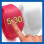 Reloj Led Silicone Unisex Relojes Tecnología Touch