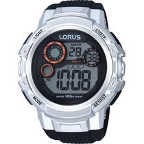 Reloj Lorus Sumergible 100 Mts Crono Alarm Luz Calendario