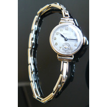 Reloj Antiguo Rolex En Oro Solido Suizo A Cuerda Año 1927