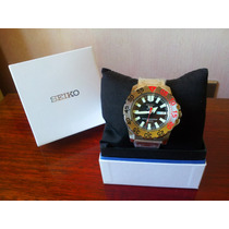 Reloj Hombre Seiko Sport 5/ Bisel Gris (nuevo)