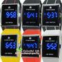 Reloj Led Watch Unisex Hora-minutos -fecha Dia-mes.alarma.