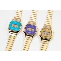 Relojes Casio La 670wg-9 Vintage Mujer Originales