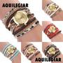 Reloj Pulsera De Mujer Leopardo, Correas Y Cadenas, Colores