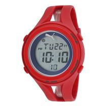 Reloj Puma Red Silicone Digital Dial - Hombre