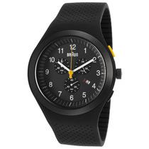 Reloj Braun Chrono Black Silicone Black Dial - Hombre