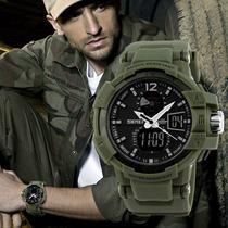 Exclusivo Reloj Militar 5atm Digital Black Men