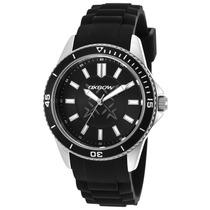 Reloj Oxbow Black Silicone Black Dial - Hombre
