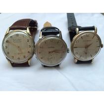 Vendo Tres Relojes A Cuerdas Antiguos