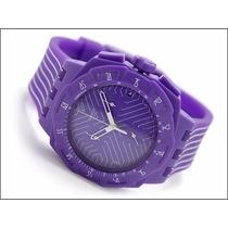 Reloj Swatch Cronometro Morado