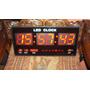 Letrero Reloj Fecha Y Hora Y Temperatura Para Casa