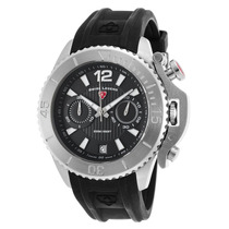 Reloj Swiss Legend Es Scorpion Chrono Black Silicone And