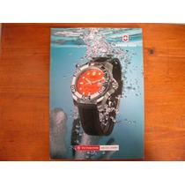 Gran Catalogo De Relojes Victorinox Impreso En Suiza