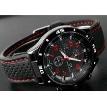 Espectacular F1 Gt Speed Racer Reloj De Hombre