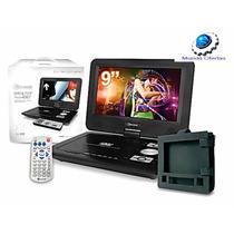 Dvd Con Tv Microlab, Portátil,giratorio De 9,sd / Usb/ Mp3