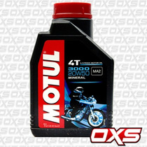 Aceite Mineral Motul 3000 20w50 Para Moto Scooter Chopper