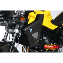Bmw F800r Cubre Radiador De Carbono, New Look De Tu Moto