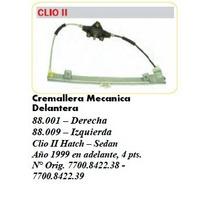 Cremallera Mecánica Renault, Clio Ii 4 Ptas, Año 99 En Adela