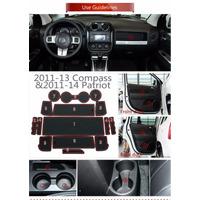 Jeep Liberty Y Compass , Set De Gomas Decorativas.