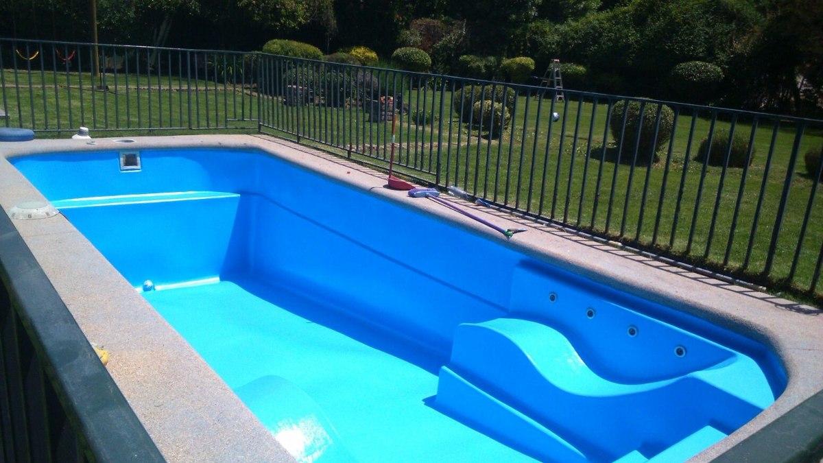 Pisinas de fibra piscinas de fibras baratas anuncio n for Vidrio para piscinas