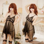 Lencería Mini Vestido Para Mujer Babydoll 0102