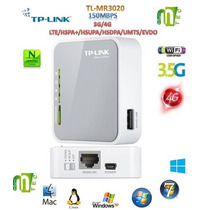 Router 3g Tplink Tl-mr3020 Wifi Portable 150 Mbps Wireless