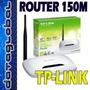 Router Wifi 150m Mejor Rendimiento Que 108m - 54m Tp-link