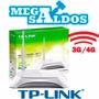 Megasaldos Router 3g 4g Wifi N150 Usb Zte Tplink Tl-mr3220